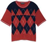 Rochas Preorder Superfine Wool Argyle Pullover