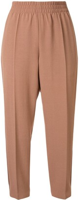 Agnona Cropped Track Trousers