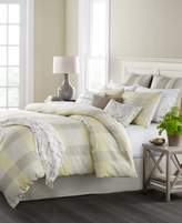Martha Stewart Collection CLOSEOUT! Martha Stewart Collection Everett Plaid Reversible 10-Pc. California King Comforter Set, Created for Macy's