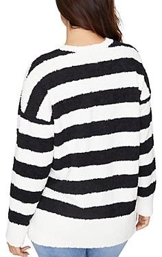 Sanctuary Curve V-Neck Teddy Sweater