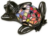 Quoizel Tiffany Lounging Frog Table Lamp in Bronze Multi