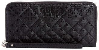 GUESS SY766646BLA Queenie Zip Around Wallet
