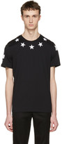 Givenchy Black '74' Stars T-Shirt