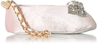 Betsey Johnson Ballet Slipper Kitch Wristlet Clutch