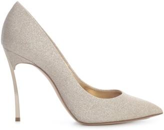 Casadei Microglitter Decollete W/ Golden Heel