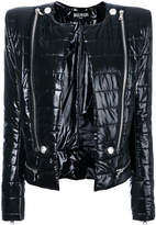 Balmain open-front zipped jacket