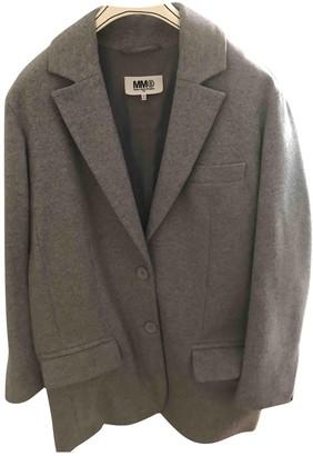 Maison Margiela Grey Wool Jackets