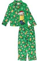 """Minions Big Boys' """"Merry Minions"""" 2-Piece Pajamas"""