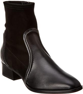 Aquatalia Fannie Weatherproof Leather Bootie
