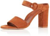 Marion Parke Lora Suede Slide Sandals