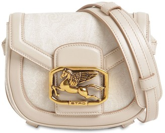 Etro Pegaso Mini Leather Shoulder Bag