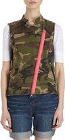 Camo That's It Pink Zip Vest