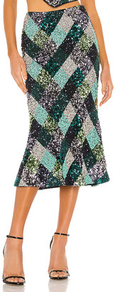Song of Style Flint Midi Skirt