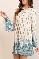 Entro Ivory Paisley Dress