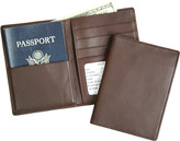 Royce Leather RFID Blocking Passport Currency Wallet 222-5