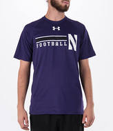 Under Armour Men's Northwestern Wildcats College Onfield Football T-Shirt