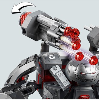 Lego Super Heroes 76124 Marvel Avengers War Machine Buster Figure