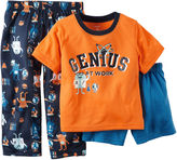 Carter's 3-pc. Genius Pajama Set - Preschool Boys 4-7