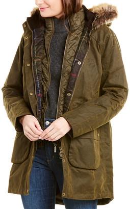 Barbour Thrunton Waxed Trench Coat