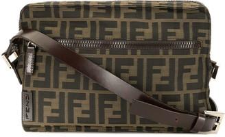 Fendi Pre-Owned Zucca print crossbody bag