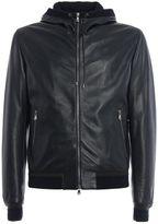 Dolce & Gabbana Dolce & Gabbana Hooded Leather Jacket