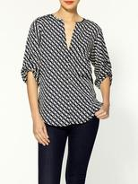 Collective Concepts Printed Blouse