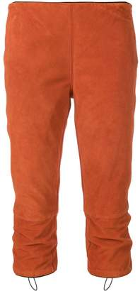 Prada Pre-Owned cropped fitted trousers