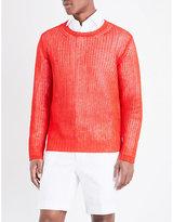 Ralph Lauren Purple Label Open-knit Linen Jumper
