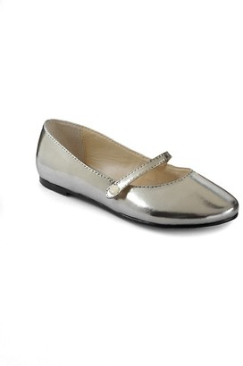 Ralph Lauren Infant's, Toddler's & Kid's Alyssa Metallic Mary Jane Flats