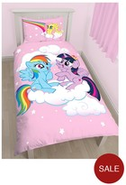 My Little Pony Equestria Single Duvet Cover Set