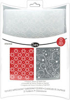 JCPenney SIZZIX Sizzix Textured Impressions 2-pk. Flowers/Stars Embossing Folders