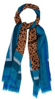 Tory Burch Printed Woven Scarf