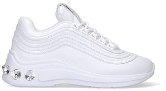 Miu Miu Rhinestones-Embellished Sneakers