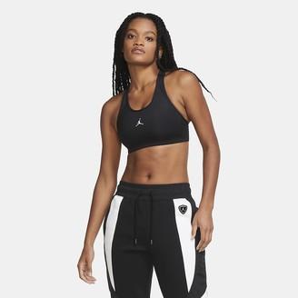 Nike Women's Medium-Support 1-Piece Pad Sports Bra Jordan Jumpman