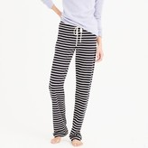 J.Crew Tall dreamy cotton pant in stripe