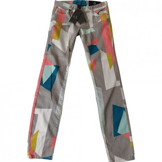 Armani Exchange Multicolour Cotton Jeans for Women