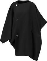 Agnona Asymmetric cashmere coat