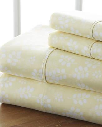 IENJOY HOME Wheat 4-Piece Bed Sheet Set, King