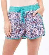 Board Angels Womens AOP Board Shorts Mint Multi