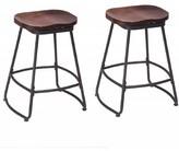"Swivel Bar & Counter Stool Awonde Seat Height: Counter Stool (26"" Seat Height), Seat Color: Brown"
