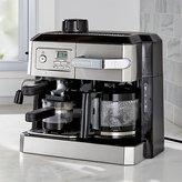 Crate & Barrel DeLonghi ® Combination Coffee and Espresso Machine