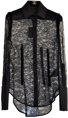 Alexander Wang Black Lace Top for Women