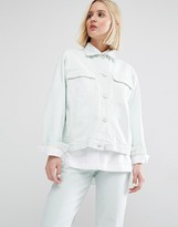 WÅVEN Karin Boyfriend Denim Jacket