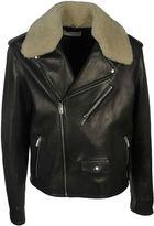 Balenciaga Buffalo Leather Biker Jacket