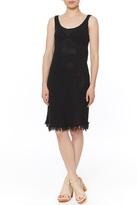 Velvet Crochet Dress