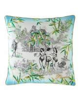 Christian Lacroix Exotisme Opale Pillow