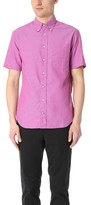 Gitman Brothers Short Sleeve Iridescent Chambray Shirt