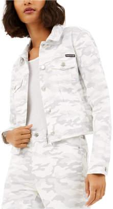 Calvin Klein Jeans Camo-Print Trucker Jacket