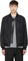 Mackage Black Zoran Bomber Jacket