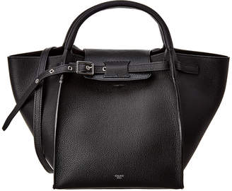 Celine Small Big Bag Leather Tote